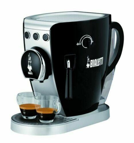 Macchina da caffe/' 20 bar trivalente bialetti tazzissima nera bianca CF37 mshop