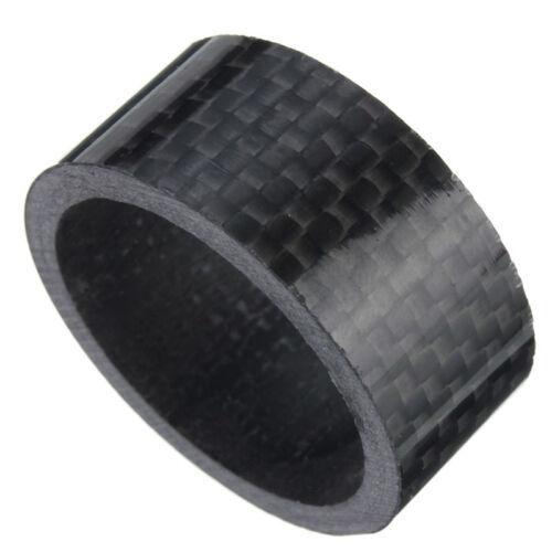 1 Set Carbon Fiber Stem Washer Spacer Bicycle Bike Headset Fork 3//5//10//15//20mm
