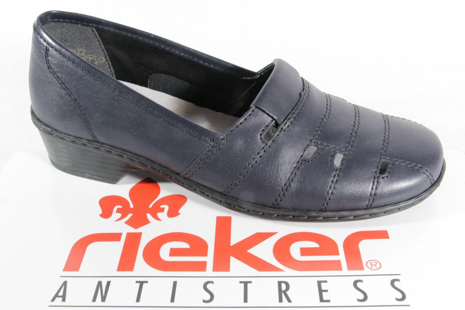 RIEKER Blu, Slipper con soft in Nuovo pelle suola interna, Blu, RIEKER Nuovo in   d138c7