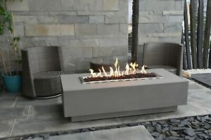 Granville Table (Eco Stone) - Gas Fire Pit - Elementi UK ...