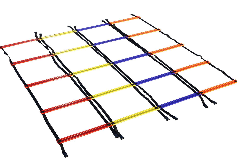 Design-a-escalera Agilty escaleras Set 4x 2 M, 4 M 4x, 4x 9 M-Fútbol-Anti Skid