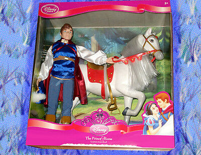 Disney Snow White Prince Charming and horse Limited Run Deluxe Doll
