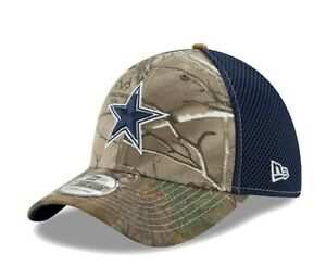 6d6106b4c New NFL Dallas Cowboys New Era Realtree Camo Neo Mens 39Thirty Cap ...