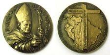 Medaglia Joannes Paulus II Pont.Max.1985 VisitaInPerù V Centenario Vangelizacion