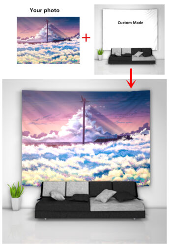 Eating Girl Wall Hanging Tapestry Psychedelic Bedroom Home Decoration