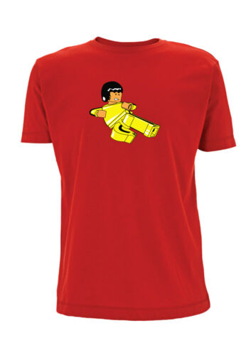 Bruce Lee Game Of Death T Shirt Lego Martial Arts Kung Fu fist of fury karate