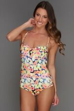 Billabong Claire Floral One-Piece Swimsuit Sz L