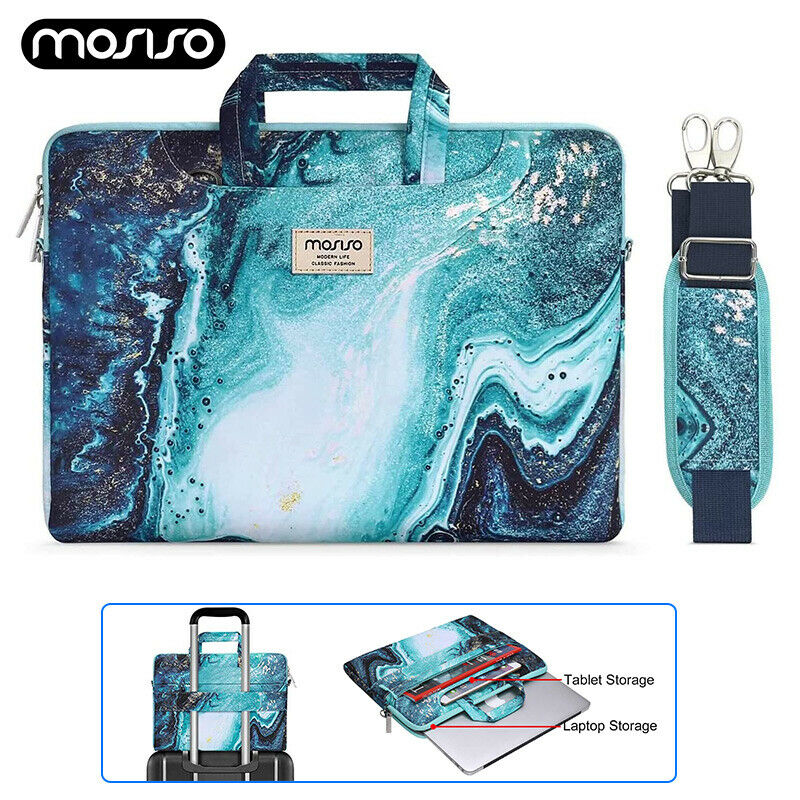 Laptop Shoulder Bag For MacBook Pro 15 16 inch Lenovo HP Men's Women Briefcase
