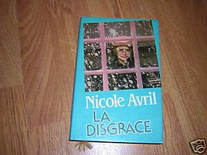 LA-DISGRACE-LIVRE-DE-NICOLE-AVRIL