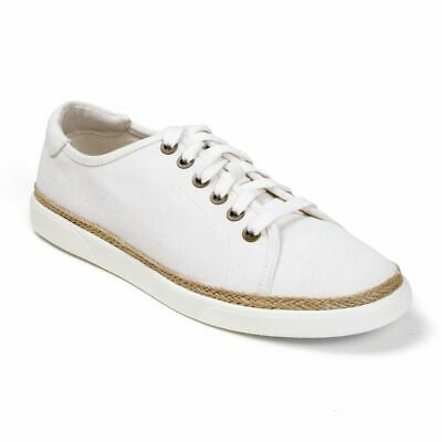 Clothing, Shoes & Accessories Comfort Shoes Women's Vionic Sunny Hattie Orthotic Sneakers Jute Canvas Shoes Ivory Sz 6.5 Choice Materials