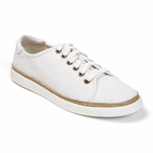 Women/'s Vionic Sunny Hattie Orthotic Sneakers Jute Canvas Ivory Sz 6.5 8