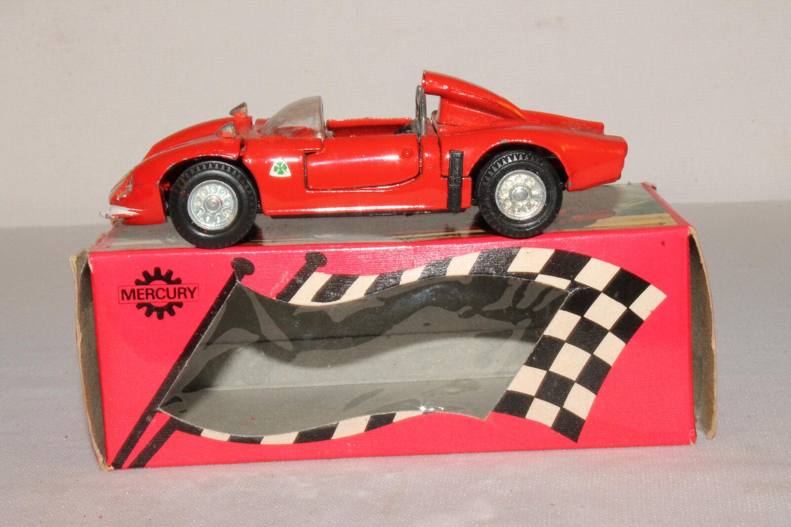597ms Mercurio Giocattoli, 33, Alfa Romeo Prossootipo Nice con Scatola Originale