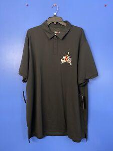 RARE!! Mens Nike Air Jordan Jumpman Classics Polo Shirt CK2228 010 Size Small