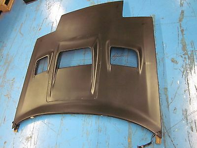Type RE FLARED Vented Fiberglass Hood for an 86-91 Mazda RX7 FC3s FC 13b