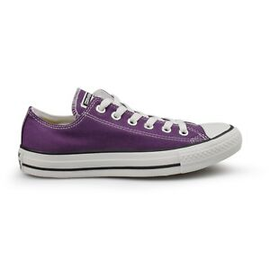 CONVERSE All Star Hi & Ox Lavender Low Top Canvas Trainers