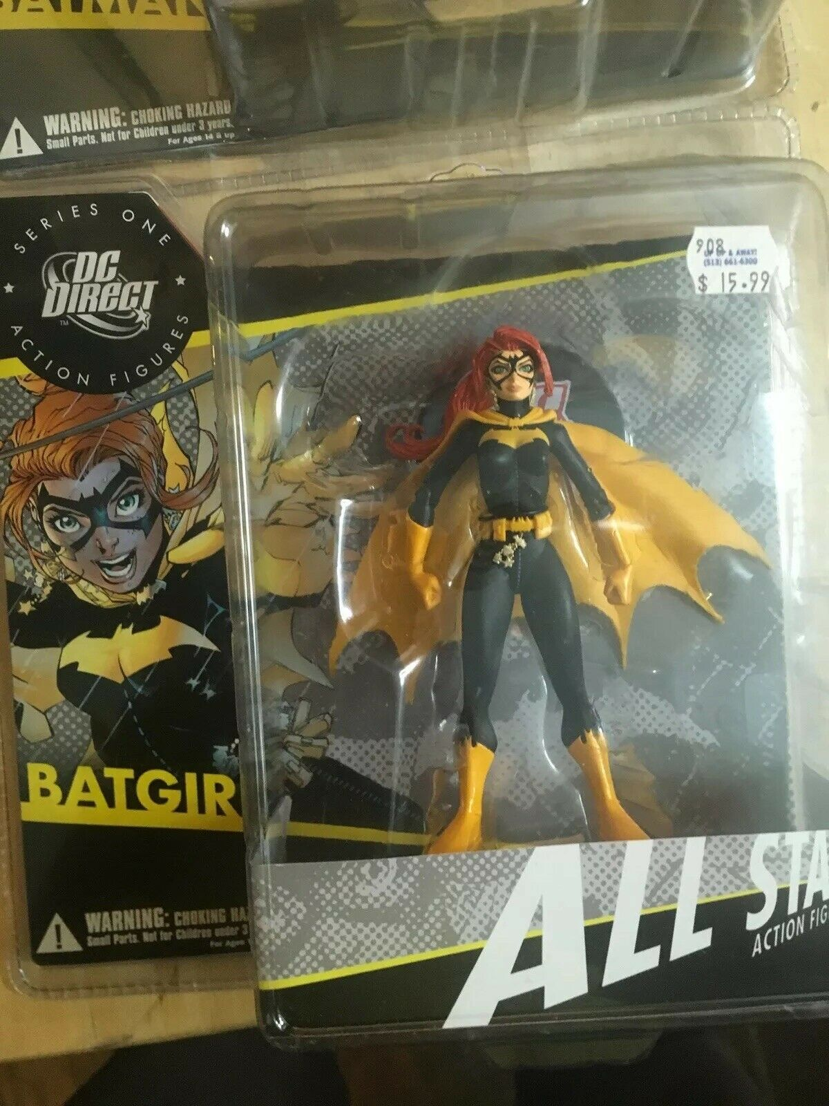 BATGIRL DC DIRECT ALL ALL ALL STAR SERIES 1 ACTION FIGURE e0919e