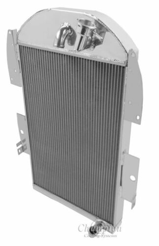 3 Row Champion Radiator For 1934-36 Chevy PICK UP Truck 6 CYLINDER