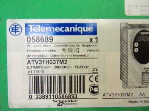 TELEMECANIQUE ATV31H037M2 SPEED DRIVE *NEW IN BOX*