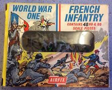 Vintage Rare World War One WW1 French Infantry HO OO Airfix 41 Pieces No S28.50c