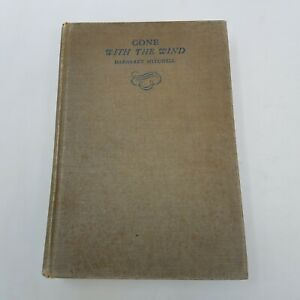 Gone with the Wind (1936) Margaret Mitchell - First Edition August Printing, 1st