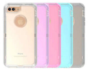 best loved 39405 3fc23 Details about For iPhone 6 6S & 6 Plus + Transparent Clear Case (Clip Fits  Otterbox Defender)