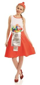 Ladies-1980s-80sw-Retro-Gumball-Novelty-Funny-Hen-Do-Fancy-Dress-Costume-Outfit
