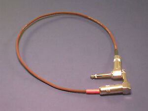 """18"""" Evidence Audio Monorail Patch Cable ~ Right Angle Or Straight Connectors 7digtsbz-07172008-284079270"""