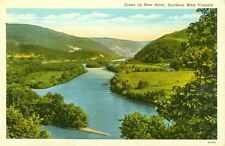 New River,WV. A tranquil New River in Southern West Virginia