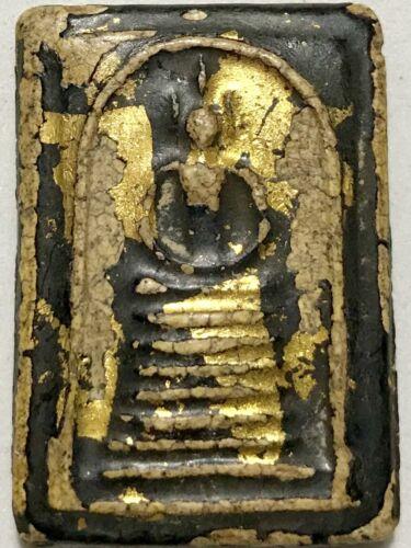 PHRA SOMDEJ LP RARE OLD THAI BUDDHA AMULET PENDANT MAGIC ANCIENT IDOL#38