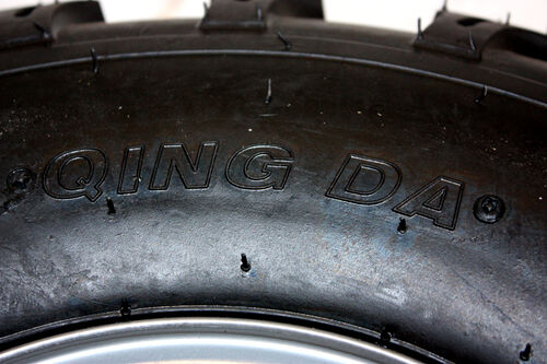 "2X 19x7-8/"" inch Front Wheel Rim Tyre Tire 125cc 150cc Quad Dirt Bike ATV Buggy"