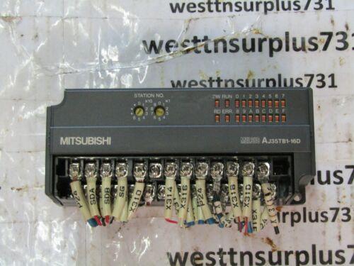 """Mitsubishi AJ35TB1-16D Input Unit /""""Used/"""""""
