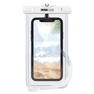 Wasserdichte-Unterwasser-Tasche-Handytasche-Schutz-Huelle-Case-Cover-Beutel-Weiss