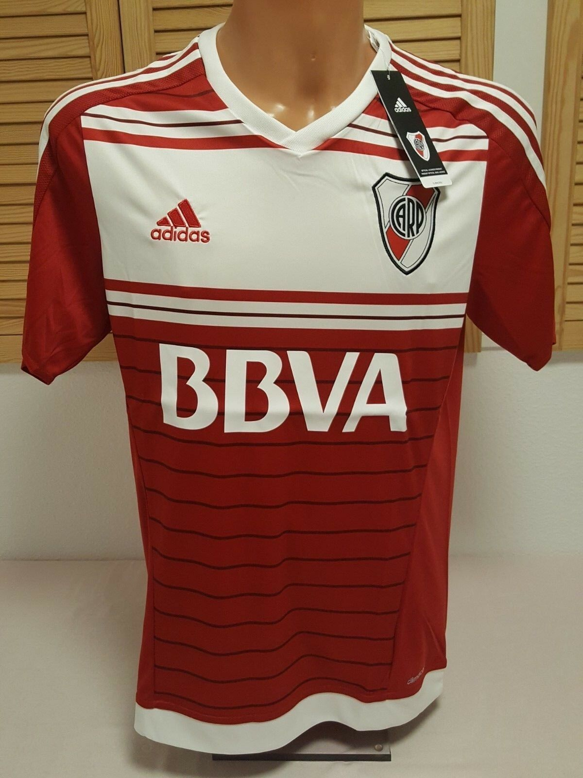 River Plate Buenos Aires Aires Aires Trikot Jersey Camiseta Maglia Maillot XL Shirt adidas 9bf448
