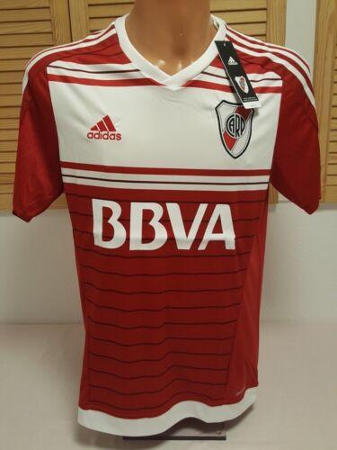 River Plate Trikot Jersey Camiseta Camisola Maglia Maillot L Shirt adidas BBVA