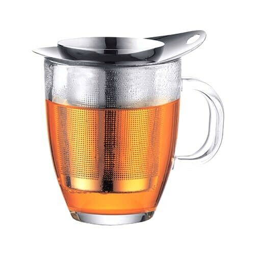 Bodum Yo-Yo Tea Strainer Set Stainless Steel-Ideal for your favourite loose tea