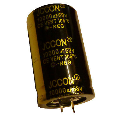 10000uF 63V Electrolytic Capacitor 105C