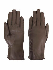 Giromy-Samoni-Womens-Warm-Winter-Plush-Lined-Leather-Driving-Gloves-Taupe