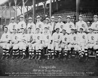1908 Chicago Cubs Mlb Baseball World Series Champions Team 8x10 Photo Picture