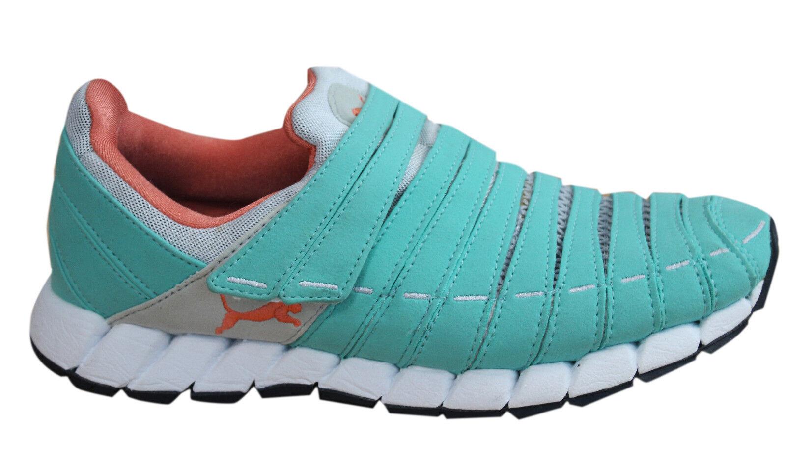 Puma Osu Osu Osu casi como nuevo Zapatillas para mujer Criss Cross Zapatillas Textil De Menta 185686 13 D35  bajo precio
