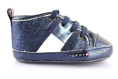 Tommy Hilfiger Babyschuhe Baby Halbschuhe Klettverschluss Sandalen Gestreift 18