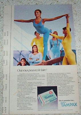 1984 Milk Advert Vintage Print Ad Page Cute Blonde Girl in Leotard and Tights