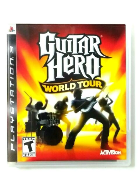 Guitar Hero: World Tour (Sony PlayStation 3, 2008) Complete Tested Working
