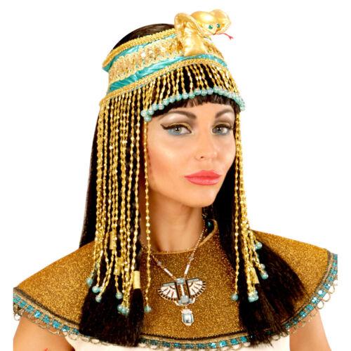 Cleopatra Kopfschmuck mit Schlange Ägyptischer Haarschmuck Kleopatra Kopfband