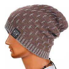 Winter Men Women Warm Knit Crochet Wool Ski Beanie Skull Slouchy Caps Hippie Hat