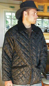 M Giacca In coste Colletto Mens Xs England New nero a in trapuntata Xl L Xx velluto Made S 4qrw41x6nF