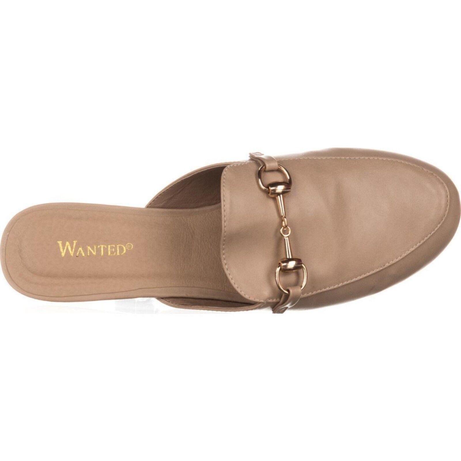 Quería para mujer Bitman Natural Natural Natural Sin Cordones Mocasines zapatos con hebilla de oro talla 10 M  ofreciendo 100%