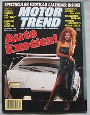Motor Trend 12/1989 featuring Porsche, Mercedes, Audi, Jaguar XJ-S, VW Corrado