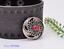 10X-Bohemian-3D-Flower-Turquoise-Conchos-For-Leather-Craft-Keychian-Wallet-Decor miniatuur 21