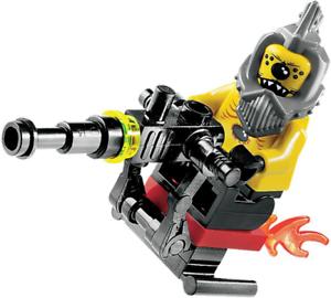 LEGO Space Police Set 8400 Space Speeder Black Hole Gang Alien Snake NEW Sealed