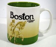 Starbucks Boston Coffee Mug Collector Series 2011 Cup Ceramic 16 oz Global Icon